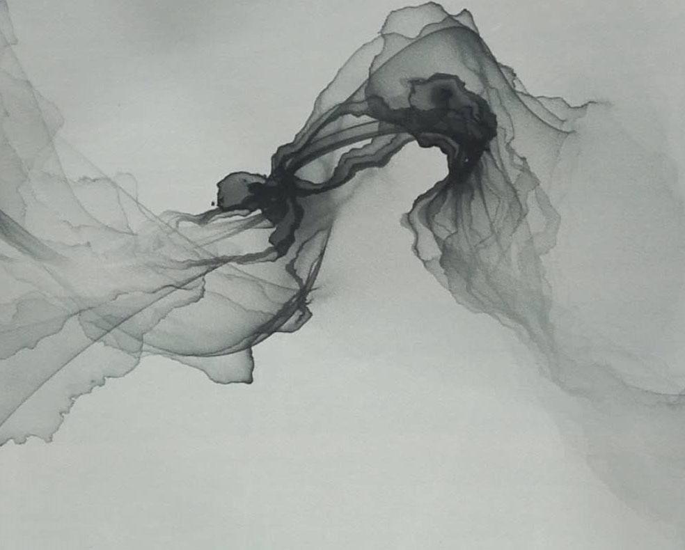 抽象艺术画玻璃
