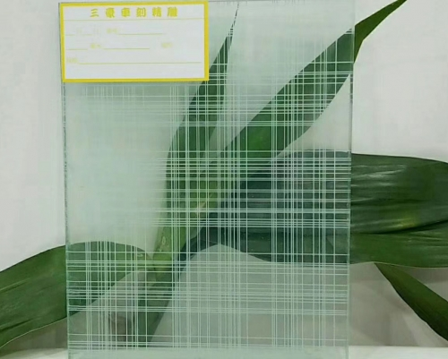 清晰网格玻璃